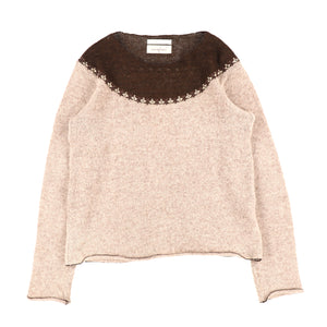GEORGE TWO TONE KNIT