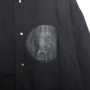 I.S. LEATHER PATCH JACKET