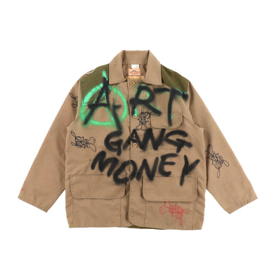 EXCLUSIVE 1 OF 1 PAINTED HUNTING COAT 2