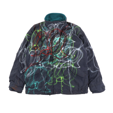 EXCLUSIVE 1 OF 1 PAINTED PATAGONIA JACKET 1