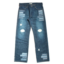 MESSAGE PATCH JEANS