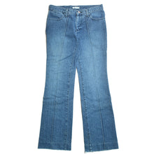 CENTER PLEATED JEANS
