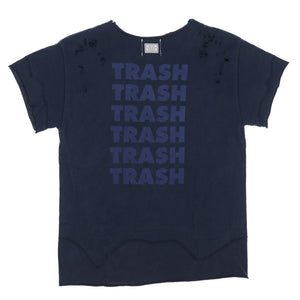 DAMAGED TRASH TEE