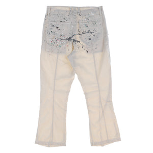 PAINTED COTTON PANTS