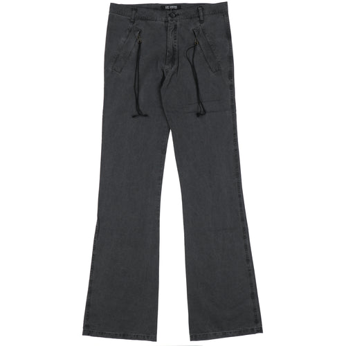WIDE STRAPPED PANTS