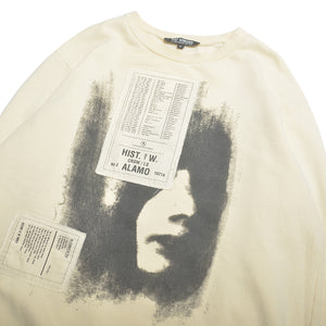 HISTORY OF MY WORLD FACE PRINTED SWEAT SHIRTS
