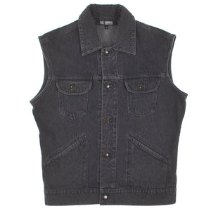 WASHED DENIM VEST