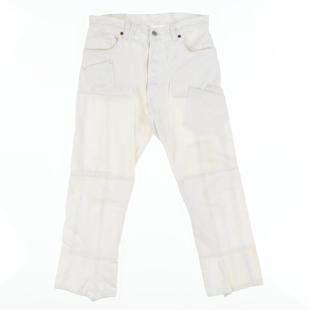 LEVI'S RECONSTRUCTED JEANS