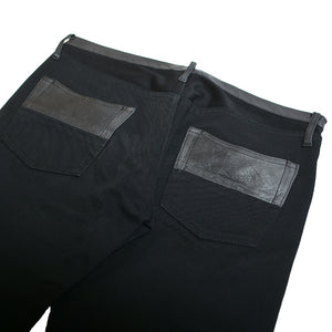 LEATHER DOCKING PANTS