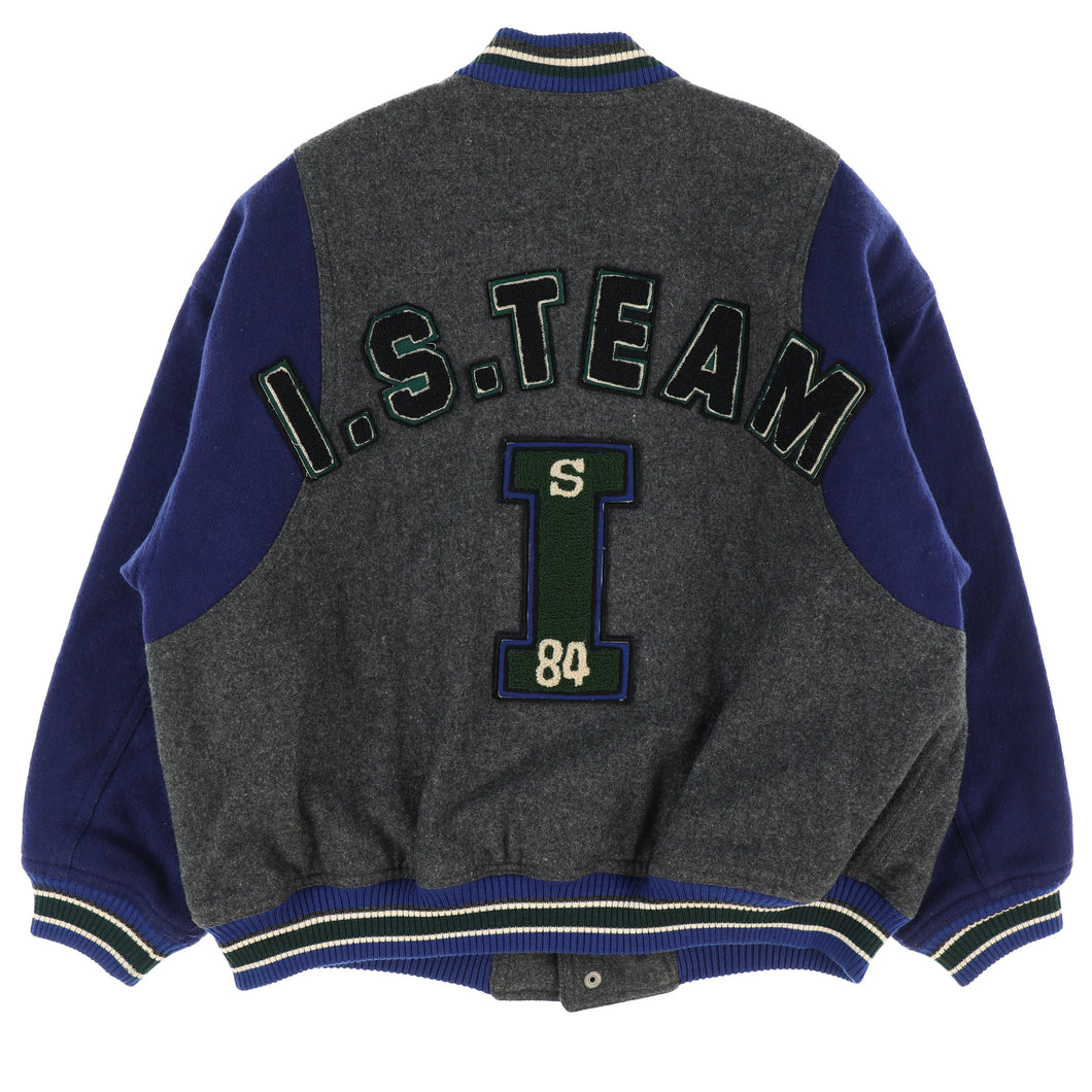 LOGO PATCH STADIUM JACKET