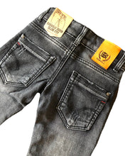 Harlow Black Distressed Slim Fit Jeans