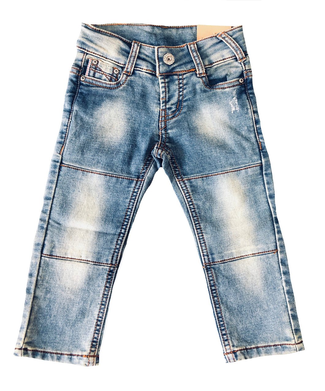 Harlow Blue Distressed Slim Fit Jeans