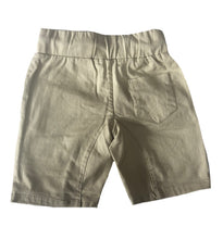 Quinn Beige Chino Pleat Shorts