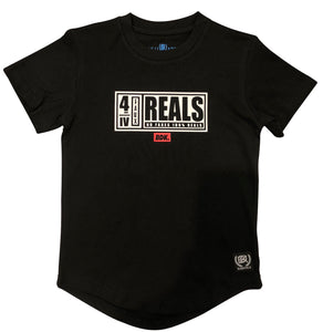 """For Reals"" Tee - Babahlu Kids Streetwear"