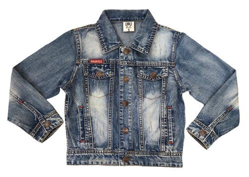 Hunter Denim Jacket - Babahlu Kids Streetwear