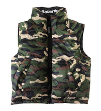SOHO Camo Reversible Puffy Vest