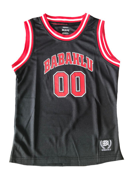 Basketball Tank Black 00 Print