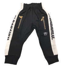 Harlem Drop Crotch Black Stripe Pants
