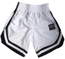 Basketball Shorts White - Babahlu Kids Streetwear