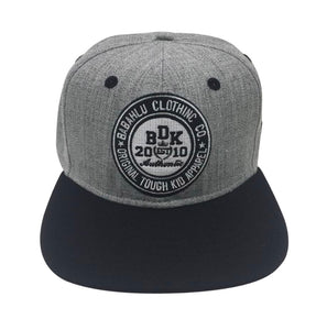 Snapback Cap Black and Grey - Babahlu Kids Streetwear