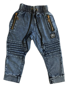 Drop Crotch Stone Wash Pants - NEW STYLE - Babahlu Kids Streetwear