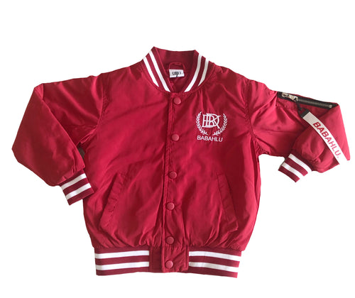 SOHO Red Bomber Jacket