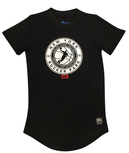 """Rucker Park New York"" Basketball Print Tee - Babahlu Kids Streetwear"