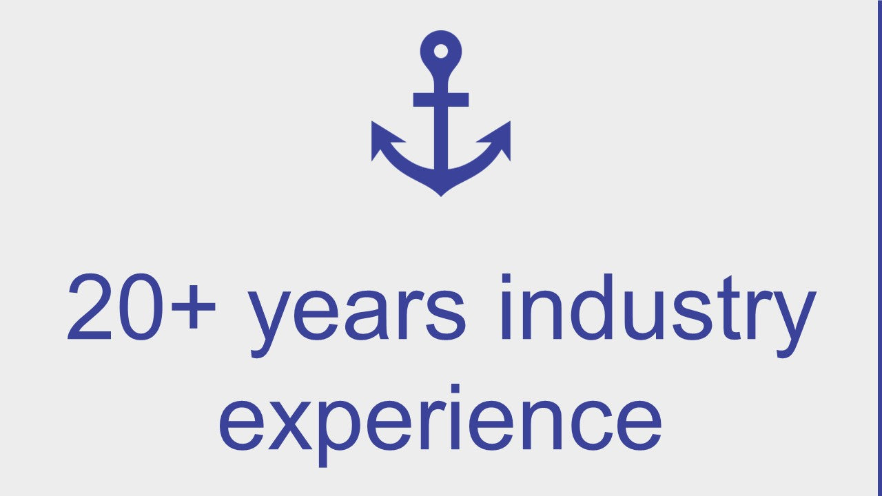 20 years industry experience