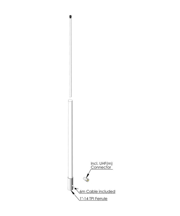 Photo of AC Antennas CB6 HF Citizen Band Antenna