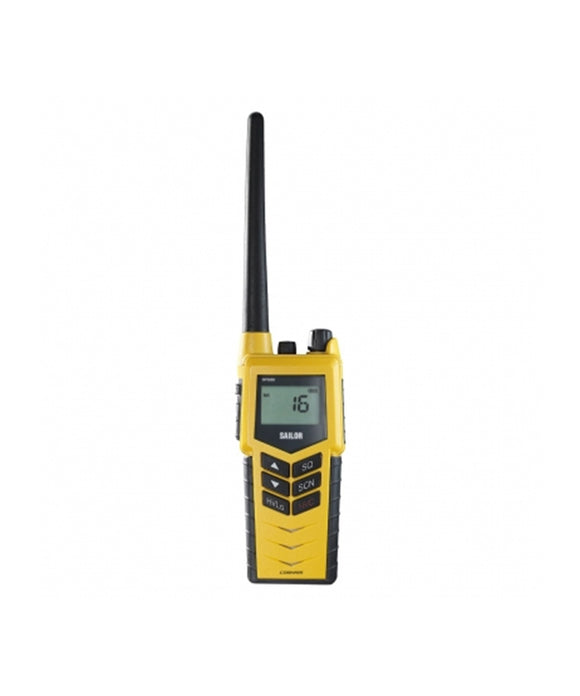 Photo of Cobham SAILOR SP3520 VHF GMDSS Portable Radio with Emergency Battery and Rechargeable Battery Pack