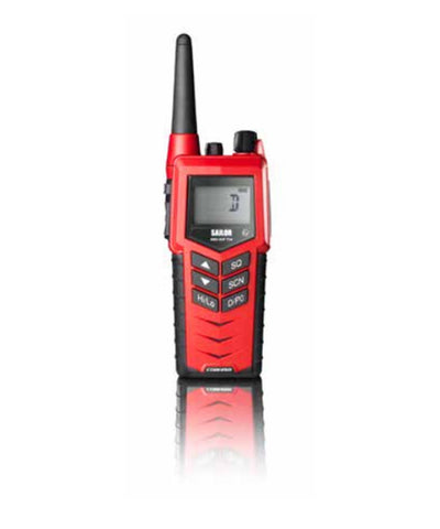 Photo of Cobham SAILOR 3965 UHF Fire Fighter ATEX IIB Intrinsically Safe Portable Radio with Emergency Battery and Rechargeable Battery Pack