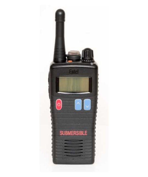 Photo of Entel HT883 UHF ATEX IIA Intrinsically Safe Portable Radio