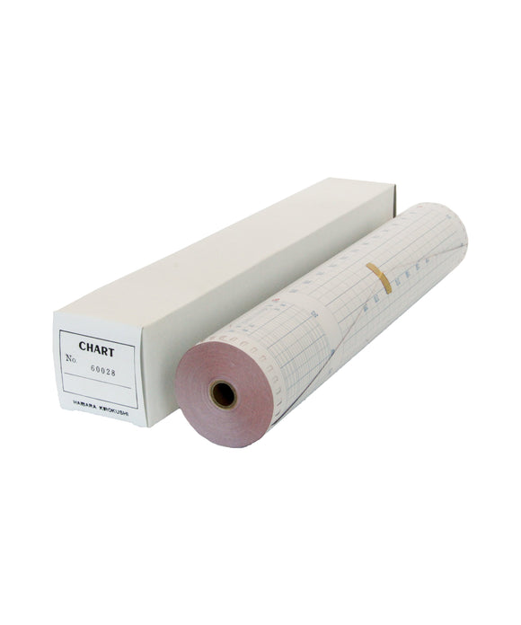 Photo of 24m Course Recorder Paper 60028 for C. Plath 4001, 4002, 4003, 4004 (Japanese)