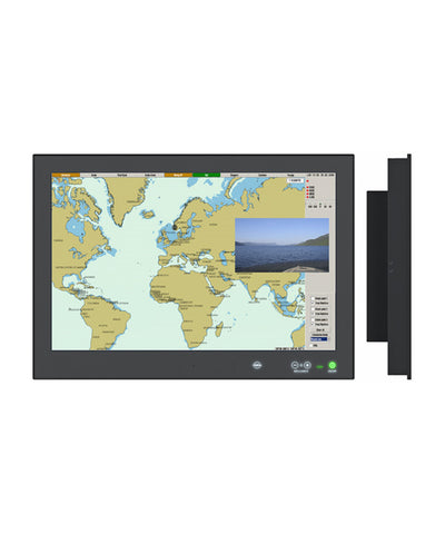 "Photo of Hatteland HD 26T22 MMD-MA4-FAGA 26"" MMD Series X ACDC Black GDC Buzzer ECDIS DVI"