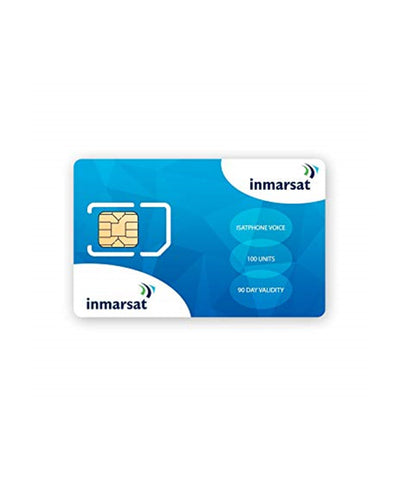 Photo of Inmarsat GSPS PRO/LINK 500 Unit Air Time Voucher with SIM Card - 365 Days Validity
