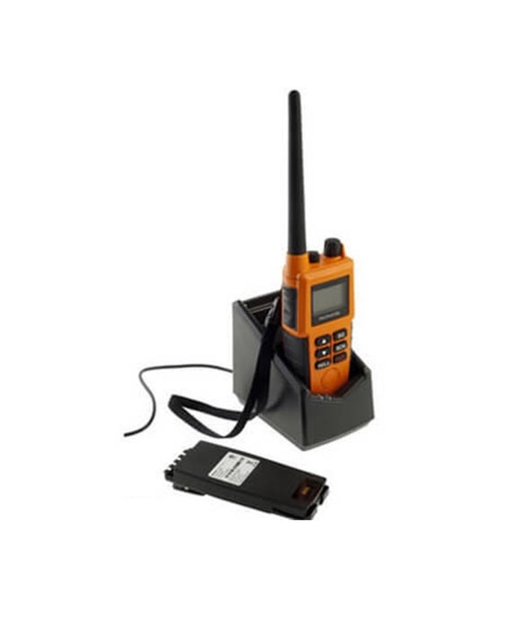 Photo of McMurdo R5 GMDSS VHF Handheld 2-Way Radio with Lithium Emergency Battery and Rechargeable Battery Pack 20-001-01A