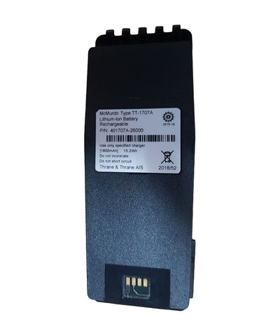 Photo of McMurdo Rechargeable Lithium Battery 20-003-02A / TT-1707A for R5 GMDSS VHF Radio