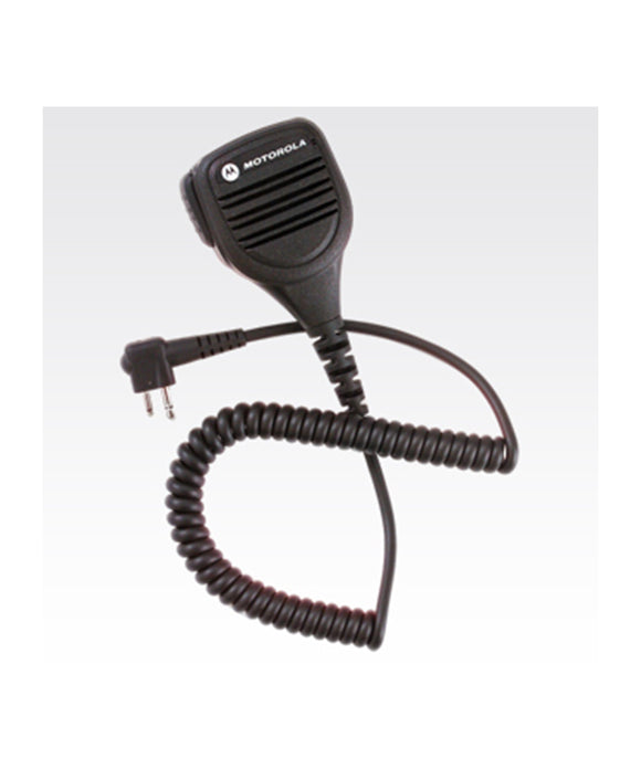 Photo of Motorola PMMN4013 IP54 Windporting Remote Speaker Microphone with 3.5mm Audio Jack