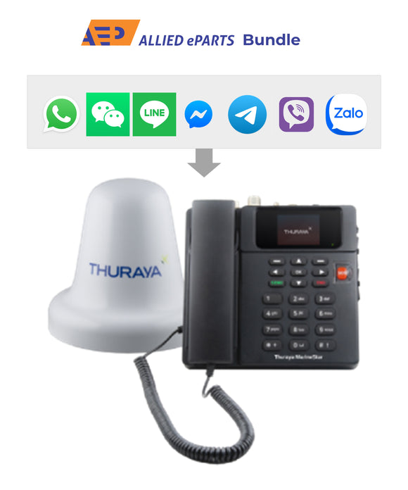 Thuraya MarineStar + Allied eParts Bundle