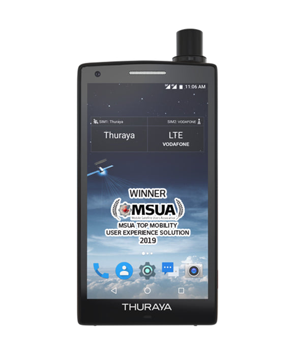 Photo of Thuraya X5-Touch Handheld Satellite Phone & GSM Smartphone Handset