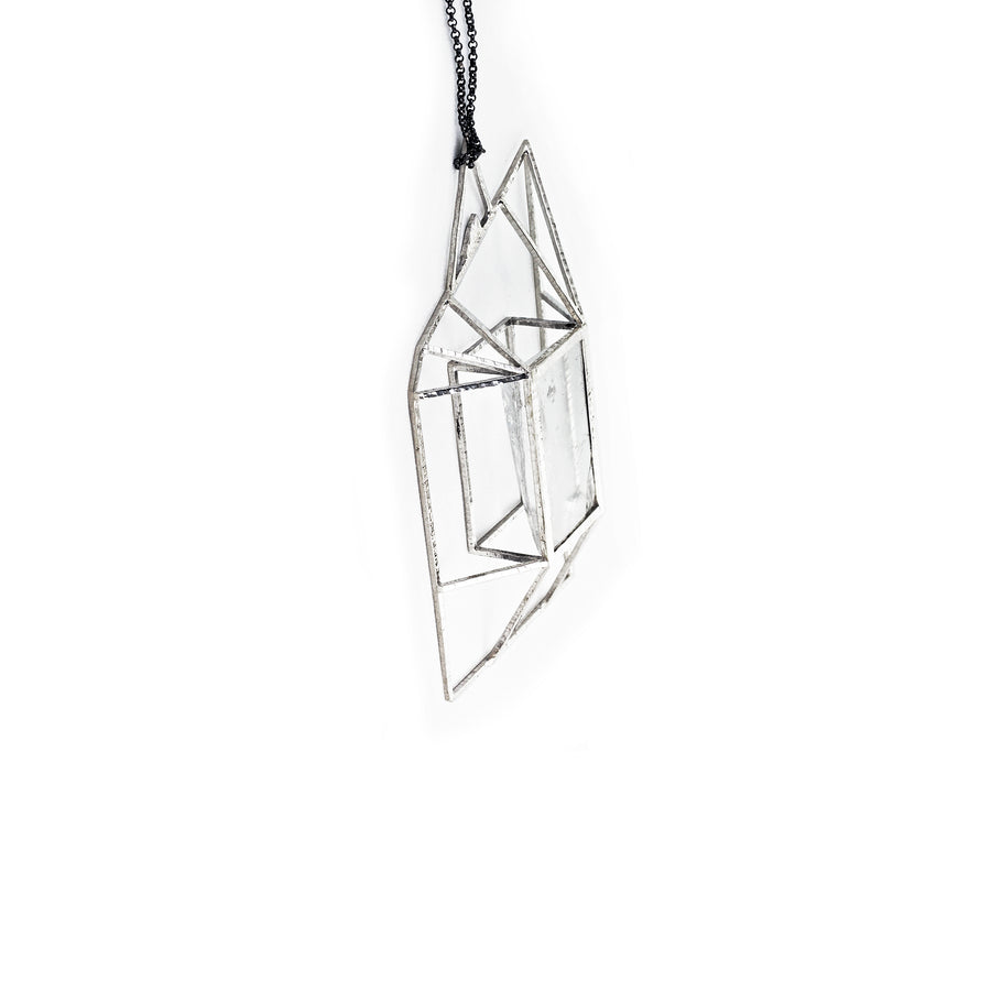 Arctic Pyramid Necklace