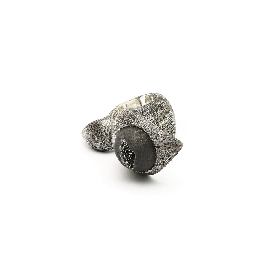 Coiled Cobra Ring