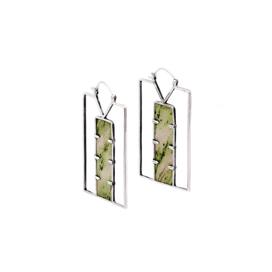 Green Door Earrings