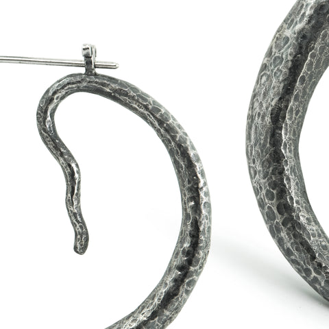 Weaver's Snake Earrings