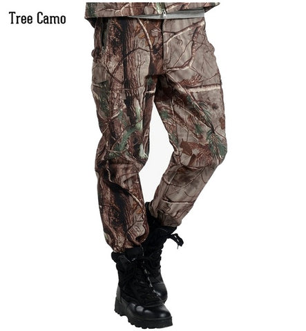 Shark Skin Soft Shell V4.0 Outdoor Military Tactical Pants Waterproof Windproof