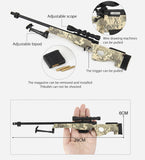 TOY GUN METAL SCALE MODEL CAMO AWM