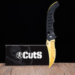 FLIP KNIFE TIGER TOOTH