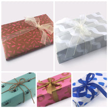 Hand Painted Gift Wrapping Papers (Set of 5)