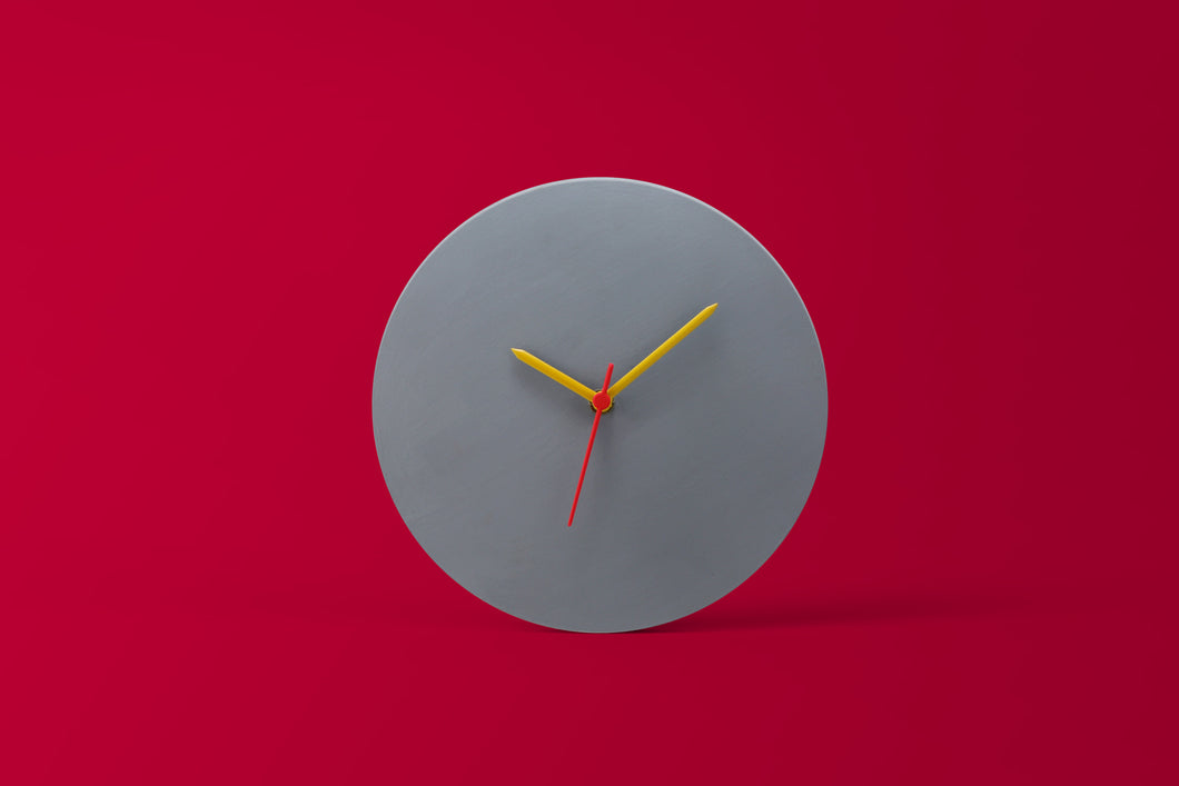 Light Grey Wall Clock