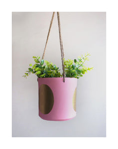 Hanging Cylinder Planters